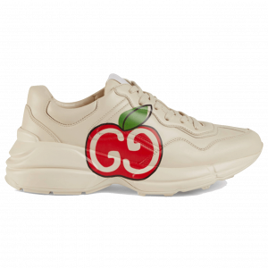 GUCCI RHYTON GG APPLE SNEAKER