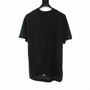 Givenchy Oversized T-Shirt With Trompr-L'oeil Effect - GVS07