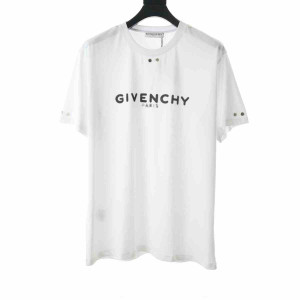 Givenchy T-Shirt With Metallic Details - GVS05