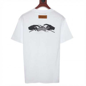 Louis Vuitton Printed Front And Back T-Shirt - LSVT47