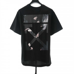OW Angel Oil Painting T-Shirt - OW30