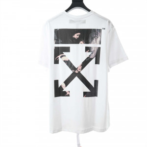 OW Angel Oil Painting T-Shirt - OW31