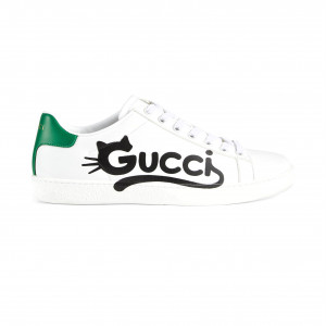 ACE SNEAKERS WITH GUCCI KITTEN - GCC061