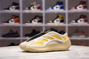 ADIDAS YEEZY 700 V3 SAFFLOWER LOW-TOP SNEAKERS - AD25