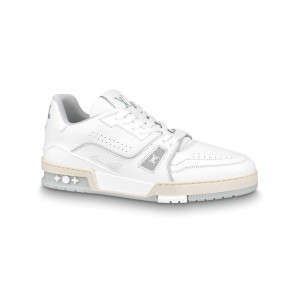 LOUIS VUITTON TRAINER SNEAKERS IN WHITE - LSVT094