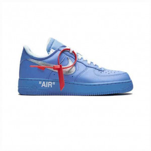 NIKE X OFF-WHITE AIR FORCE 1 LOW MCA SNEAKERS - NK02