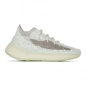 WHITE ADIDAS YEEZY BOOST 380 CALCITE GLOW SNEAKERS - AD27