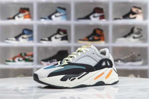 """YZY 700 BOOST WAVE RUNNER """"SOLID GREY"""" - NK09"""