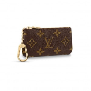 M62650 Louis Vuitton Key Pouch Monogram Coated Canvas In Brown - WWE057